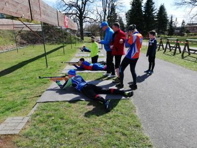 Vorschaubild zur Meldung: Schorfheide Biathlon-OL (31.3.2019)