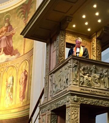 Propst Stäblein predigt zum KirchentagsSonntag 2018 in der Potsdamer St. Nikolaikirche