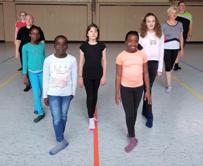 Foto zur Meldung: Neue Erwachsenengruppe Irish Step Dance im MTV!