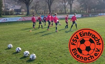 Vorschaubild zur Meldung: Fb-mJD1: SG SV Gumpoldia Gumpelstadt – FSV Eintracht Eisenach