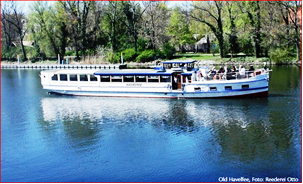 """Vorschaubild zur Meldung: Schiffstouren auf dem Elbe-Havel-Kanal mit der """"Old Havelfee"""" ab Genthin"""