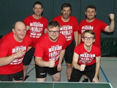 Foto zur Meldung: Tischtennis - Aufstieg in Kreisoberliga