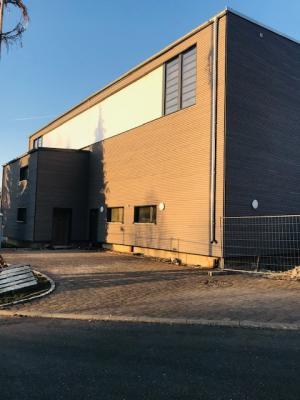 Turnhalle Ruppersdorf nach Sanierung