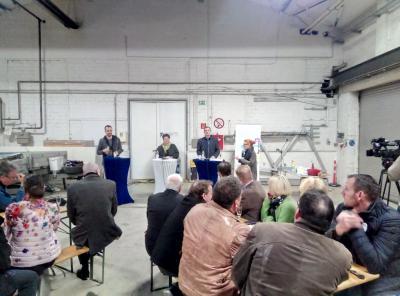 Vorschaubild zur Meldung: Mitgliederversammlung zur Bürgermeisterwahl 10.04.2019 - Ein Highlight bei airkom