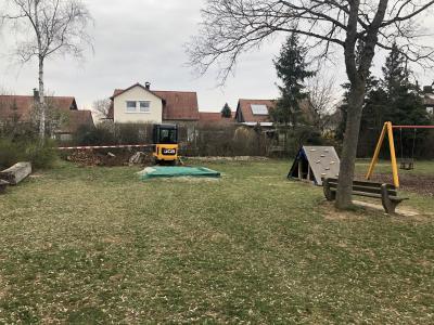 Foto zur Meldung: Umgestaltung Spielplatz am Krähberg