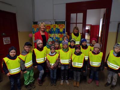 """Foto zur Meldung: Kleine Kita-Reporter an der Grundschule """"Fritz Reuter"""" in Crivitz zu Gast"""