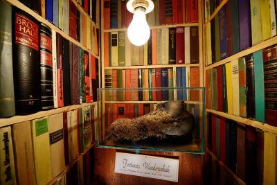 Foto zur Meldung: Fontanes Wanderschuh im Wegemuseum