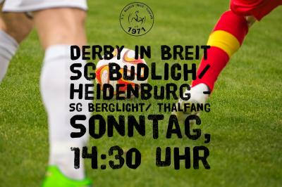 Derby in Breit// Remis gg. Tabellenzweiten