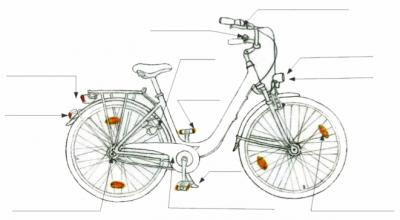 Vorschaubild zur Meldung: Radfahren - sicher und nach Regeln