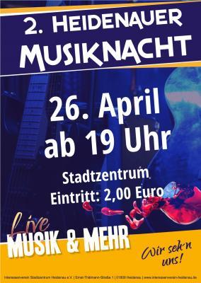 Foto zur Meldung: 2. Heidenauer Musiknacht