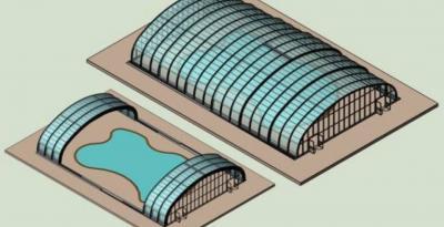Vorschaubild zur Meldung: Malchins Freibad bekommt ein Dach