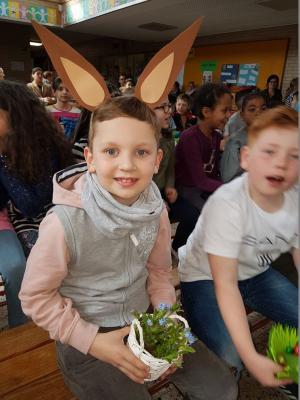 Vorschaubild zur Meldung: Die Nordschule begrüßt den Frühling und wünscht allen erholsame Ferien und ein frohes Osterfest!!!