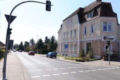 Vorschaubild zur Meldung: Südliche Bahnhofstraße in Kolkwitz wird bis September ausgebaut