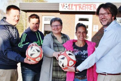 Foto zur Meldung: Startschuss für die neue Fußball-SG Saxonia