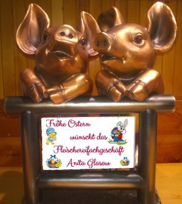 Foto zur Meldung: Fleischerfachgeschäft A. Glasow - frohes Osterfest.