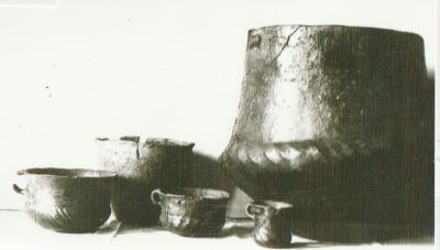 Fundstücke aus Rogätz, die im Museum Wolmirstedt aufbewahrt werden.