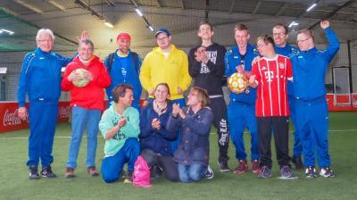Hallenfußball-Landesfinale am 13.04.2019 in Karlsruhe-Stupferich