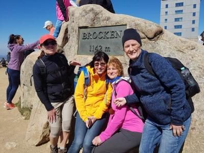Birgit, Katja, Marlies und Diana