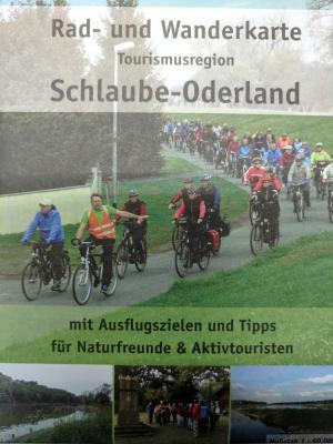 Vorschaubild zur Meldung: Rad- und Wanderkarte der Region Schlaube-Oderland in ihrer Erstauflage
