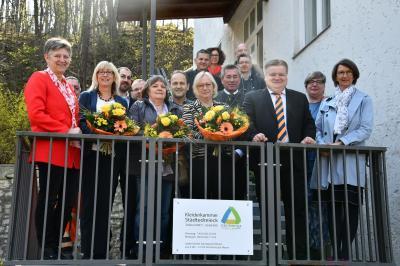 Foto zur Meldung: Kleiderkammer Städtedreieck neu eröffnet