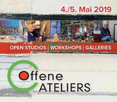 """Foto zur Meldung: """"Offene Ateliers 2019"""" am 4. und 5. Mai 2019 – OSL ist erneut dabei"""