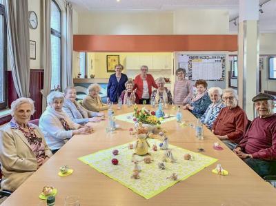 Vorschaubild zur Meldung: Osterfeier beim AWO Seniorencafé des Ortsvereins
