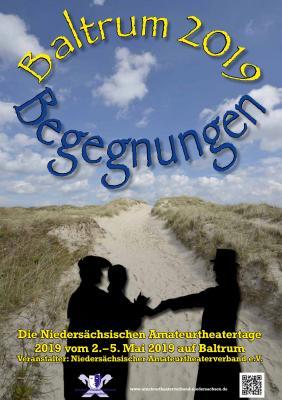 Vorschaubild zur Meldung: Niedersächsische Amateurtheatertage Baltrum 2019 : Programm