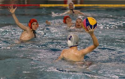Foto zur Meldung: Wasserball U15 Bezirkspokal