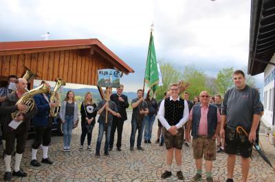 Foto zur Meldung: Die ersten Amtshandlungen für das 55-jährige Gründungsfest der KLJB gingen bereits über die Bühne