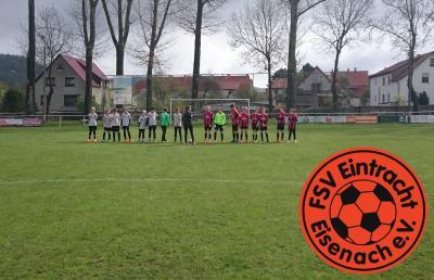 Vorschaubild zur Meldung: Fb-mJD1: SG RSV Fortuna Kaltennordheim – FSV Eintracht Eisenach