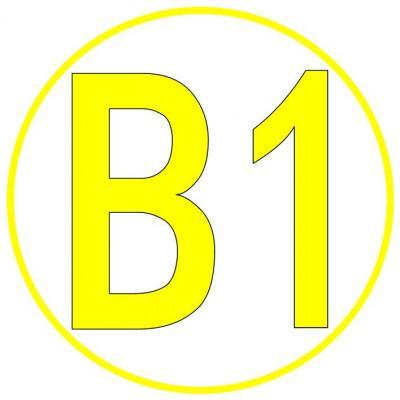 Foto zur Meldung: Die Markierung des Bührener Wanderweg B1 ist wieder Top.