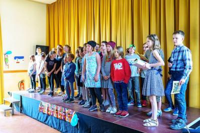 Vorschaubild zur Meldung: Talenteshow in der Berg- Grundschule