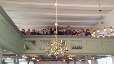 Vorschaubild zur Meldung: Die Kirchenforscher - Klasse 4