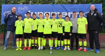 Foto zur Meldung: U13 gewinnt Ford Jungmann Cup