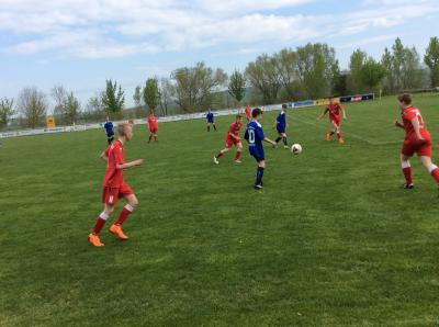 Foto zur Meldung: Fußball C-Junioren: Remis gegen Nohra