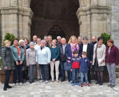 Foto zur Meldung: Besuch in Feuchtwangen - Schön war es bei Euch