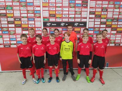 Vorschaubild zur Meldung: E-Jugend des Kolkwitzer SV lief bei Energie Cottbus auf