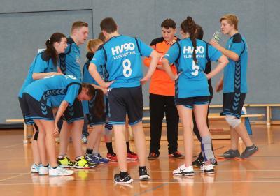 Vorschaubild zur Meldung: B-Jugend spielt gutes Turnier zum Saisonfinale