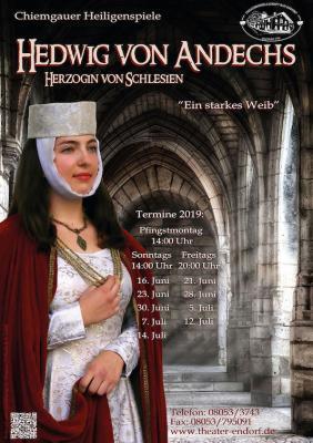 Chiemgauer Heiligenspiel-Hedwig von Andechs
