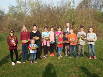 Foto zur Meldung: Osternestsuche der Kinder
