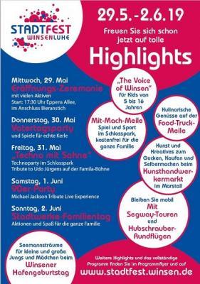 Vorschaubild zur Meldung: Los geht's - Stadtfest in Winsen (Luhe)