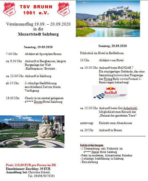 Bild der Meldung: Vereinsausflug nach Salzburg