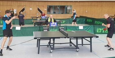 Foto zur Meldung: Tischtennis (Relegation) - Herren II schaffen Klassenerhalt