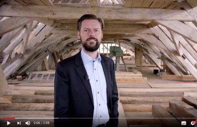 Vorschaubild zur Meldung: Ein Jahr Bürgermeister: Matthias Rudolph zieht Bilanz und guckt nach vorn