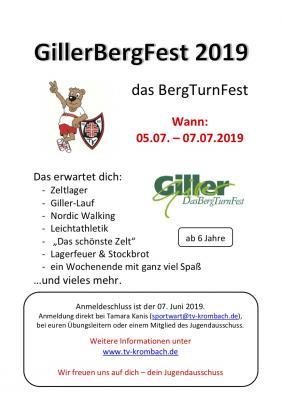 Vorschaubild zur Meldung: GillerBergFest 2019