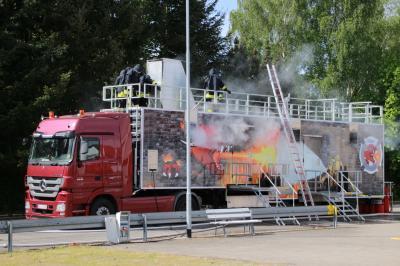 Vorschaubild zur Meldung: Brandübungscontainer 2019