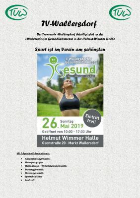 Vorschaubild zur Meldung: 1.Wallersdorfer Gesundheitsmesse