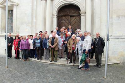 Foto zur Meldung: Die Senioren reisten ins Donautal nach Weltenburg