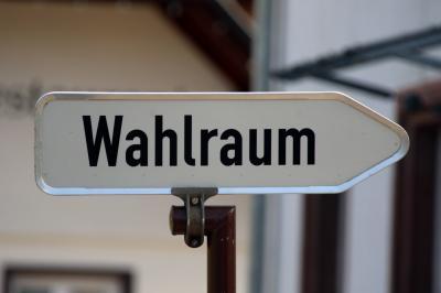 Kleinkindern bleibt 26.05.2019 in Freiburg der Gang zur Wahlurne erspart - (Symbolbild) Joachim Hahne - johapress