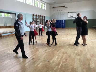 Foto zur Meldung: Tanzen: Ohne Fleiß keinen Preis